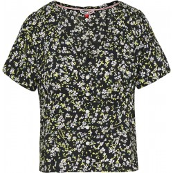 Viscose blouse with a flower print by Tommy Jeans