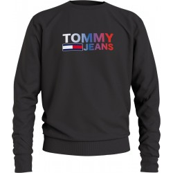 Sweat-shirt avec logo ombragé by Tommy Jeans