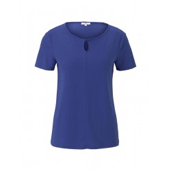 1025777 T-shirt with knot by Tom Tailor
