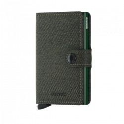 Miniwallet Twist Green by Secrid