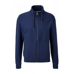 Sweat jacket with stand up collar by s.Oliver Red Label