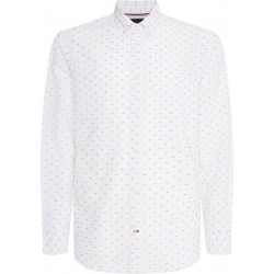 Regular Fit: chemise à manches longues by Tommy Hilfiger