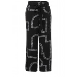 Loose Fit Hose mit Print by Street One