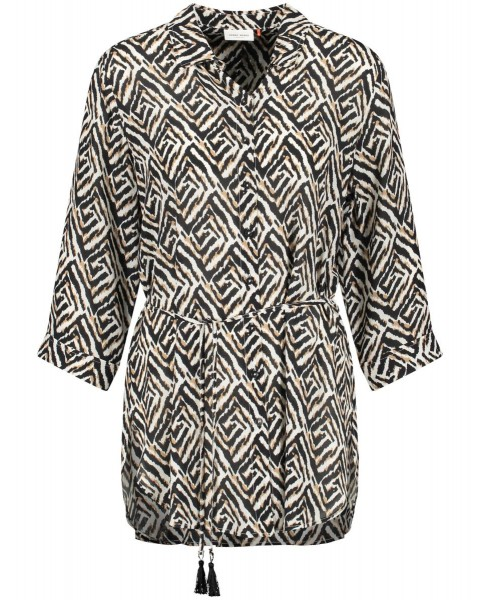 Blouse longue à motif graphique by Gerry Weber Collection