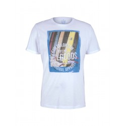 T-Shirt mit Frontprint by Tom Tailor