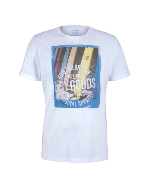 T-Shirt avec impression frontale by Tom Tailor