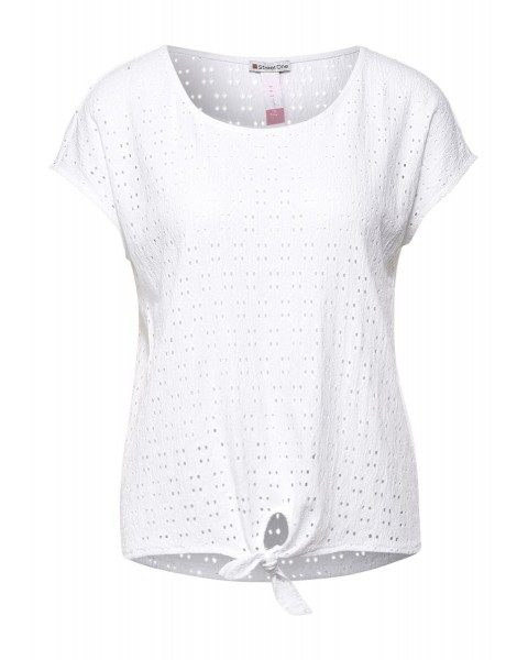 T-shirt avec structure by Street One