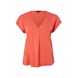 Loose blouse with a V-neck by Comma