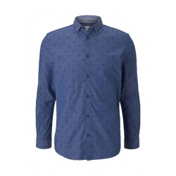 Slim Fit: long sleeve shirt by Tom Tailor