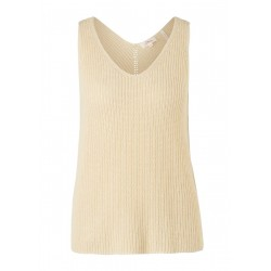 Linen blend knitted top by s.Oliver Red Label