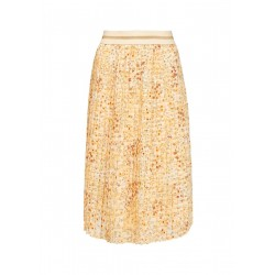Pleated skirt with elastic waistband by s.Oliver Red Label