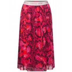 Midi skirt with print by Street One