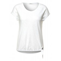 T-shirt avec broderie by Cecil