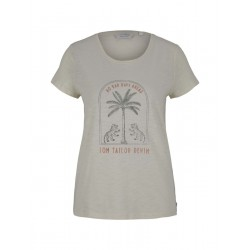 Print t-shirt with organic cotton by Tom Tailor Denim