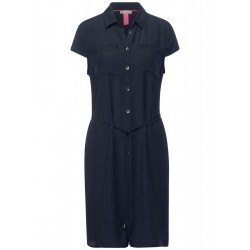 Robe avec col chemise by Street One