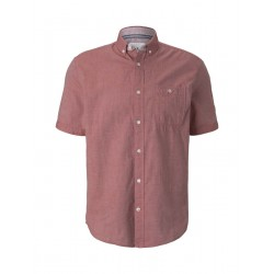 Slim Fit: short sleeve shirt by Tom Tailor
