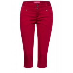 Casual fit capri pants by Street One