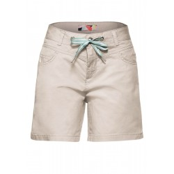 Loose Fit Shorts in Unifarbe by Street One
