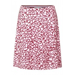 Mini skirt with print by Street One