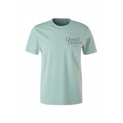 Jersey shirt with text print by s.Oliver Red Label