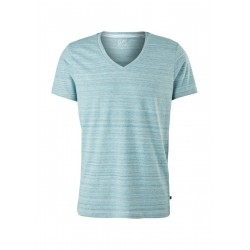 T-shirt with a slub yarn structure by Q/S designed by