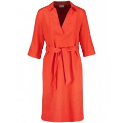 Robe chemisier en lin by Gerry Weber Collection