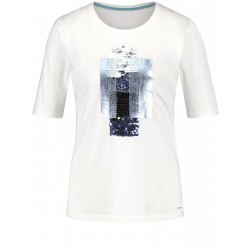 T-shirt with sequins by Taifun