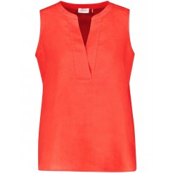 Sleeveless linen blouse by Gerry Weber Collection