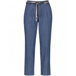 7/8 trousers with pleats by Gerry Weber Collection