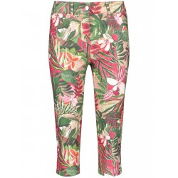 Caprihose mit Blumenmuster by Gerry Weber Edition