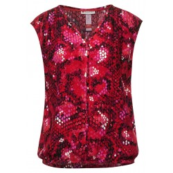 Blouse top with print by Street One