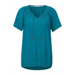 Bluse mit Smok Details by Cecil