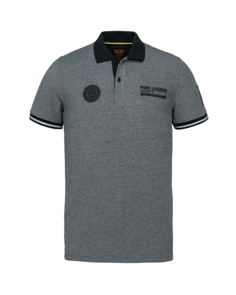 Two Tone Pique Polo by PME Legend