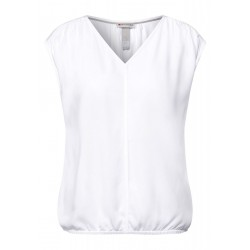 V-neck blouse by Street One