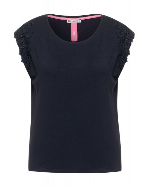 T-shirt avec broderie by Street One