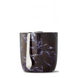 Seau à glace BLACK MARBLE by Swell