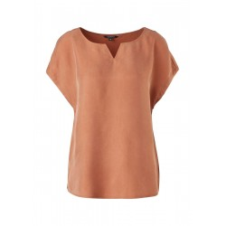 Cupro blouse shirt by Comma
