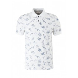 Jersey print polo shirt by s.Oliver Red Label