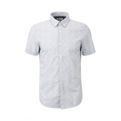Slim Fit: short sleeve shirt by s.Oliver Red Label