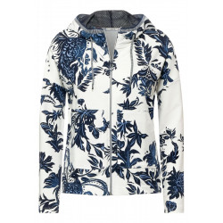 Shirtjacke im Hoodie Style by Cecil