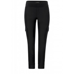 Loose fit trousers in cargo by Street One
