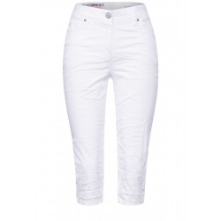 Slim fit trousers in high waist by Cecil