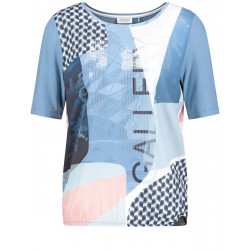 Shirt with patch print by Gerry Weber Collection