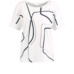 Shirt with graphic pattern by Gerry Weber Collection