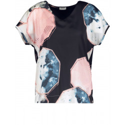 Shirt with crystal print by Gerry Weber Collection