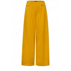 Loose fit pants with wide legs by Street One