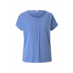 Loose fit t-shirt with pleats by Tom Tailor
