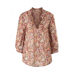 Chiffon blouse with all-over pattern by s.Oliver Black Label
