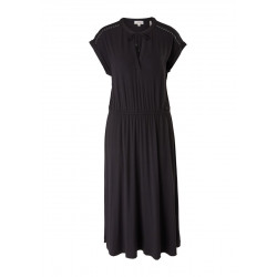 Material mix dress with a tie by s.Oliver Red Label
