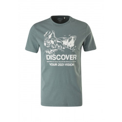 T-Shirt mit Frontprint by s.Oliver Red Label